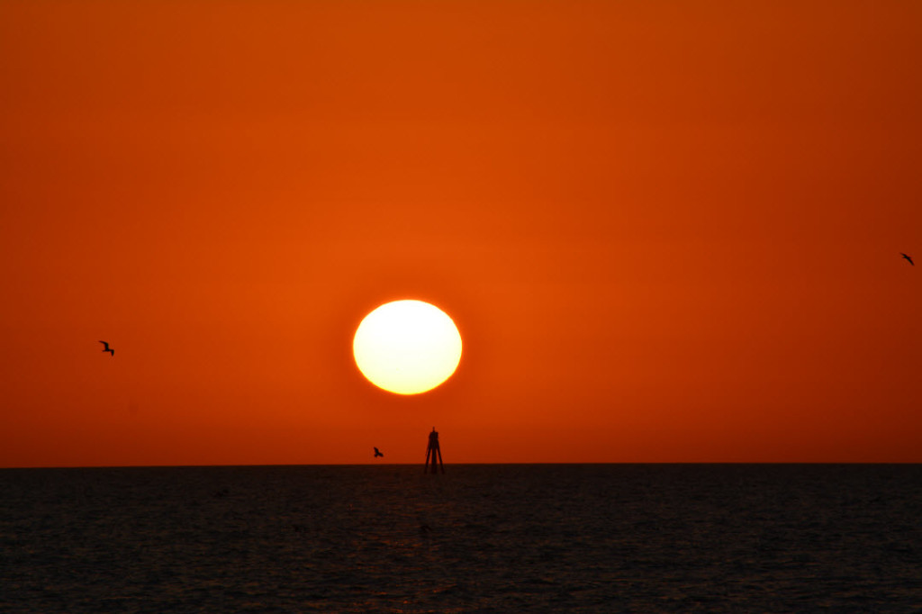 Sunsetat Clearwater Beach FL