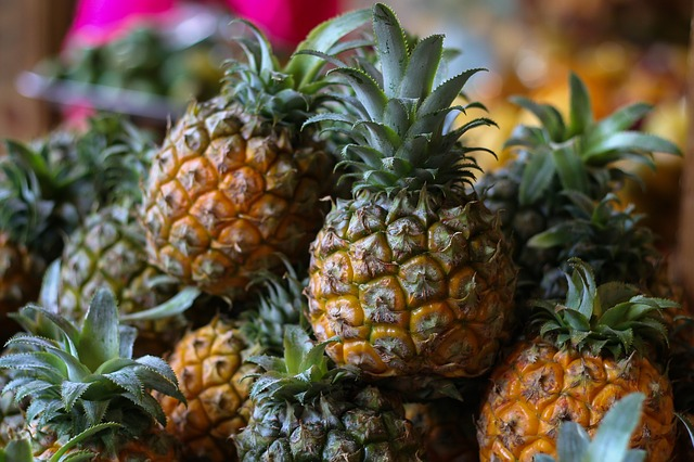 Pineapple strengthens the immune system