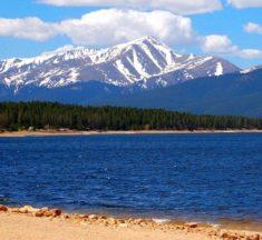 Most inspiring mountain views US